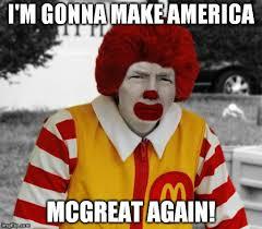 Ronald Mcdonald Phone Meme - ronald mcdonald trump memes imgflip