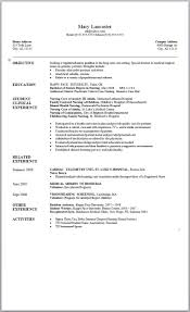 word template for resume simple chronological resume sle for college student college