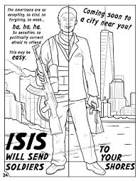 anti isis coloring comic book proves accurate educates on islamic
