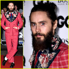 gucci 2015 heir styles for men jared leto wears his signature gucci style at gq men of the year