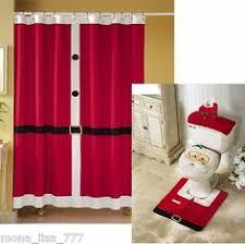 Shower Curtains Sets For Bathrooms by Christmas Themed 15 Pc Bath Set Bath Mat Contour Mat Shower