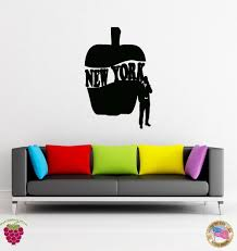 online get cheap big city aliexpress com alibaba group wall sticker new york big apple city words cool decor for your place china