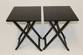 tv dinner table set furniture attractive folding tray table set with pinterest the