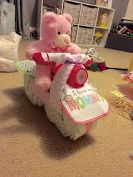 how to make a motorcycle diaper cake with pictures wikihow