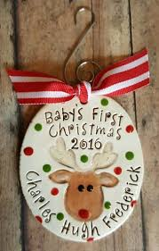 personalized ceramic ornament for baby s