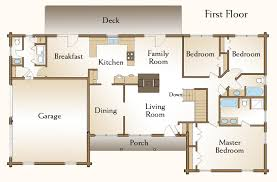 3 bedroom cabin floor plans the brewster log home floor plans nh custom log homes gooch