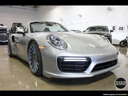 porsche 911 turbo silver 2017 porsche 911 turbo cabriolet gt silver w 4k