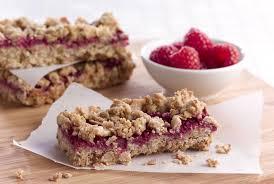 raspberry recipes healthy raspberry oatmeal bars recipe kimberton whole foods