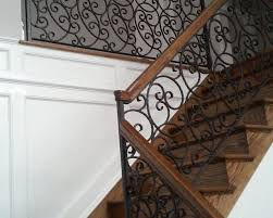 ornamental stair and landing railings stamford iron steel