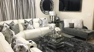 monochrome home decor glam living room tour home u0026 decor updates 2017 lgqueen home
