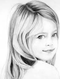 easy face pencil sketch easy pencil drawings of girls faces
