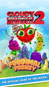 cloudy chance meatballs 2 android apk game cloudy
