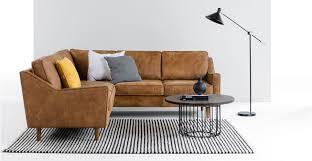canapé marron clair dallas canapé d angle en cuir de qualité supérieure marron clair