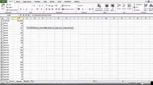 how to compare 2 big sheets with vlookup excel 2010 youtube