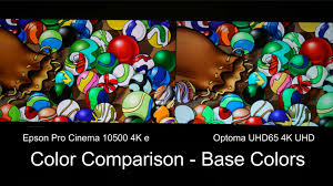 optoma home theater projector optoma uhd65 home theater projector comparison epson pro cinema