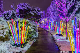 winter flower show and light garden magic phipps