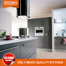 using high gloss paint on kitchen cabinets china high gloss gray smooth paint finish kitchen cabinets