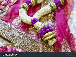 Flower Garland For Indian Wedding Flower Indian Wedding Garland Stock Photo 441989002 Shutterstock