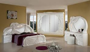 Italian Bedroom Sets Gina White Italian Classic Bedroom Set Made In Italy