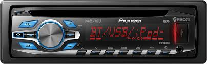 pioneer deh 6400bt cd receiver at crutchfield com