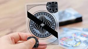 design custom transparent playing cards tutorial youtube
