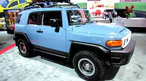 toyota fj 2014 toyota fj cruiser trail teams ultimate edition walkaround