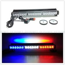 red and white led emergency lights 09014 double 12v 36w warning l emergency light blue white red