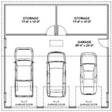 3 Car Garage Plans 3 Car Garage Dimensions Building Codes And Guides Pinterest