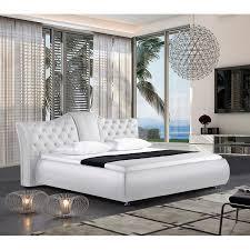 Schlafzimmer Bett Auf Raten Polsterbett Teri Kunstleder Weiß Schlafzimmer Pinterest