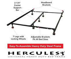 universal heavy duty adjustable metal bed frame mattress discounters
