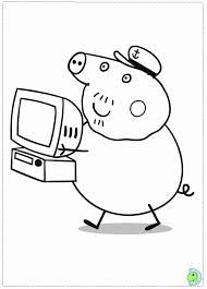 peppa pig coloring pages printable coloring