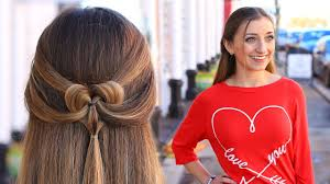 easy hairstyles not braids how to create a pancaked heart half up hairstyle valentine s day