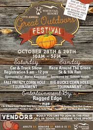 great outdoors festival october 28 u0026 29 2017 ship saves