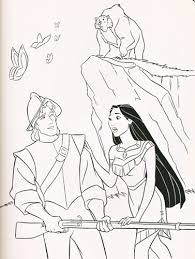 comic book coloring pages walt disney coloring pages captain john smith u0026 pocahontas