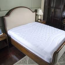 Bed Frame Protector White Bed White Bed Protection Pad Quilted Mattress Protector