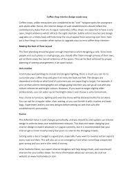 coffee shop interior designs made easy pdf pdf archive