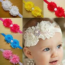 baby hair band 10pcs kids baby toddlers infant flower headband hair bow