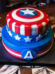 captain america cakes captain america birthday cake best 25 captain america cake ideas