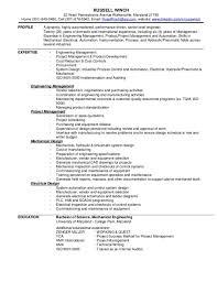 Entry Level Mechanical Engineering Resume Entry Level Mechanical Engineer Resume Cbshow Co