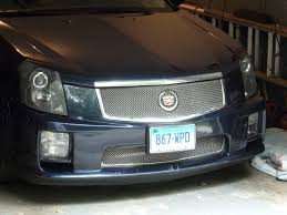 cadillac cts v grill my cts v grill finally came how does it look