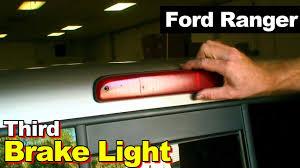 ford f350 third brake light bulb 2003 ford ranger third brake light leaking youtube