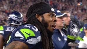 Seahawks Super Bowl Meme - richard sherman reaction face super bowl xlix know your meme