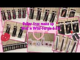 dollar tree haul makeup wet n wild fergie and elf june 2016