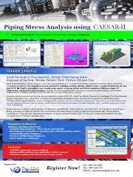 piping stress analysis using caesar ii indonesia stress u2013strain