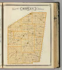 County Map Of Indiana Map Of Ripley County David Rumsey Historical Map Collection