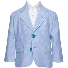boys light blue suit linen blazer for boys and
