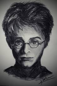 72 fast and easy charcoal portrait harry potter youtube