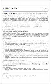 director of nursing resume sample gallery creawizard com
