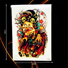 compare prices on skull sleeve tattoo designs online shopping buy