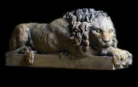 statue lions vatican lion sculpture by antonio canova reproduction replica